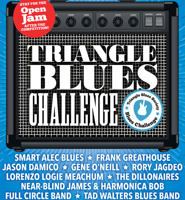 2017 TBS BLUES CHALLENGE & FREE OPEN ALL-STAR BLUES JAM HOSTED BY CHARLLEY WARD  SEPTEMBER 16, 2017 · SATURDAY * 2-8PM *$10 / $8 FOR MEMBERS / 8-11PM NO COVER!