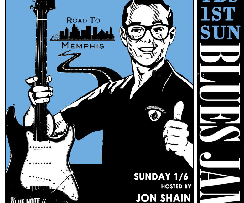 TBS 1ST Sunday Blues Jam / Road to Memphis: Solo/Duo winner Jon Shain