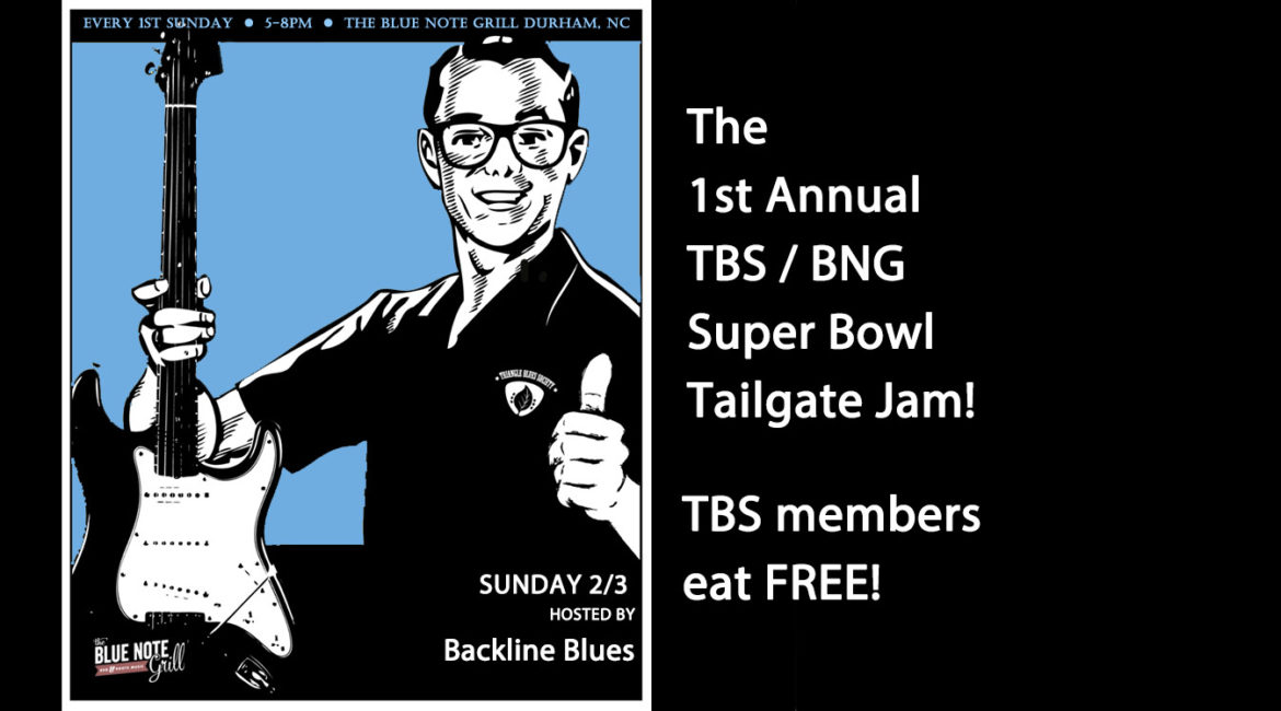The 1st Annual TBS/ BNG Super Bowl Tailgate Jam!