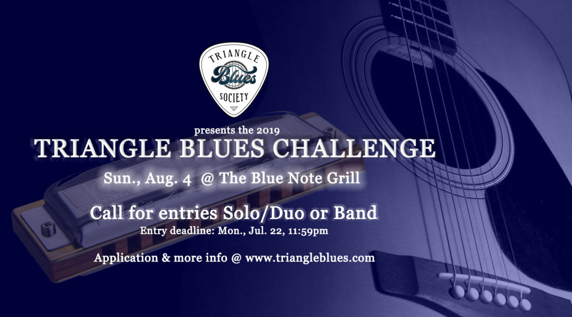 2019 TBS Blues Challenge CALL FOR MUSICIANS!