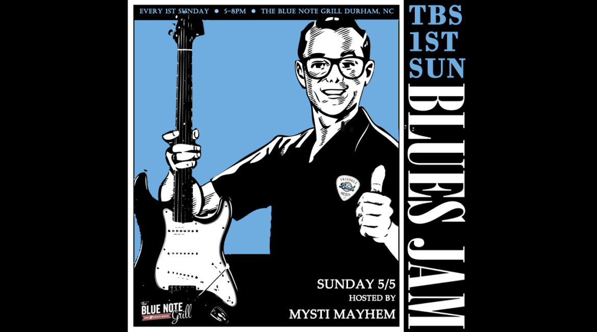 TBS 1st Sunday Blues Jam with Guest Host: Mysti Mayhem